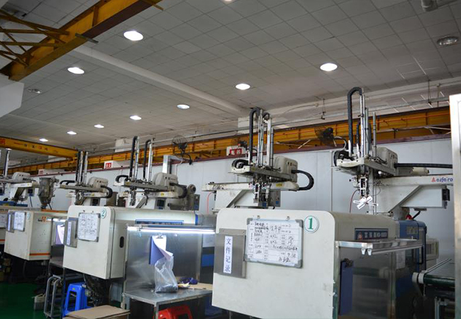 富强鑫HD-100SV型号100T注塑机