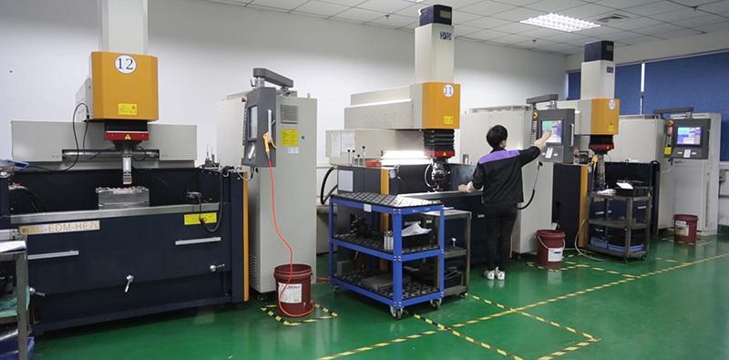 2台汉霸火花机-昱卓生产设备
