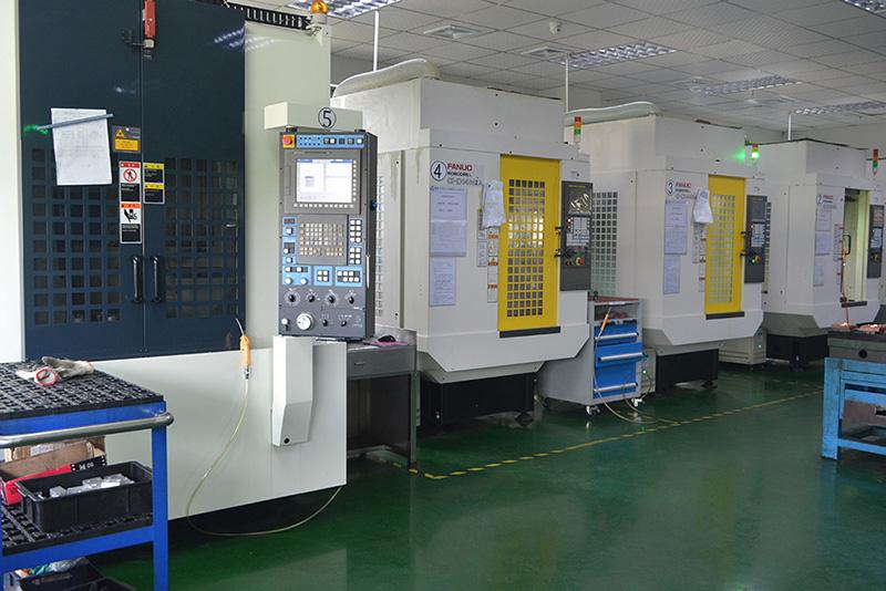 5台发那科(FANUC)CNC-昱卓模具生产加工设备